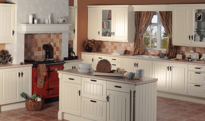 Cream Shaker Kitchens